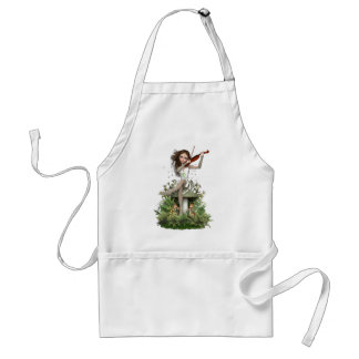 Moss Agate Fairy ~ Melody Adult Apron