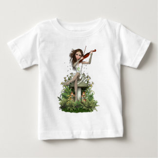 Moss Agate Fairy ~ Melody Baby T-Shirt