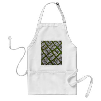 Moss and Stones Adult Apron