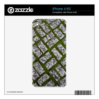 Moss and Stones Decal For iPhone 4
