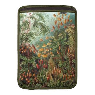 Moss Botanical Illustration MacBook Sleeve