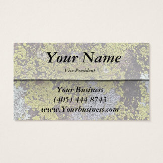 Moss Covered Rock! Business Card