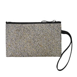 Moss covered rock coin purse