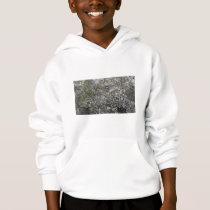 Moss Covered Rock Texture Hoodie