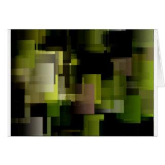 Moss Cubes Card