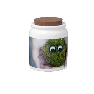 Moss eyes candy dishes