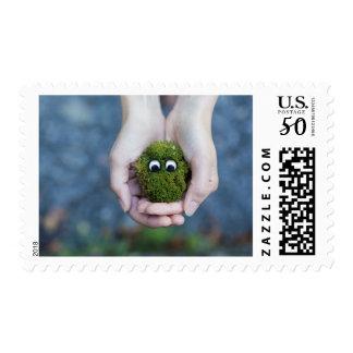 Moss eyes postage