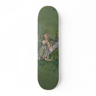 Moss fairy skateboard skateboard