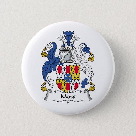 Moss Family Crest Button