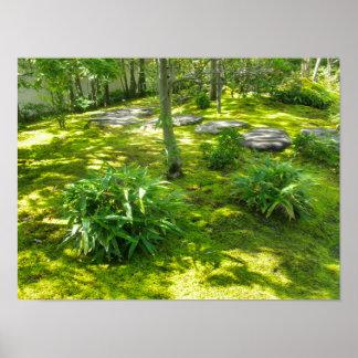 Moss Garden Print
