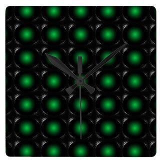 Moss Green 3D Color Design Wall Clock 1