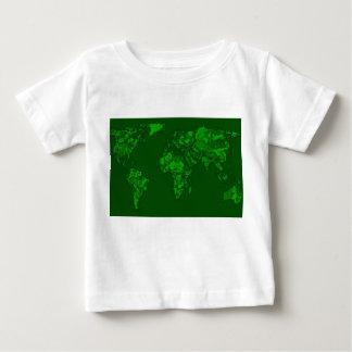 Moss green atlas baby T-Shirt