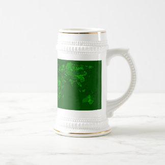 Moss green atlas mugs