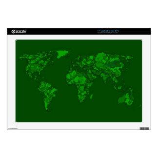 Moss green atlas laptop decals