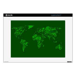 """Moss green atlas 15"""" laptop decal"""