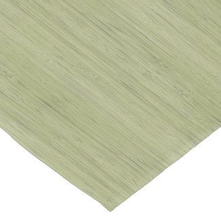 Moss Green Bamboo Wood Grain Look Short Table Runner