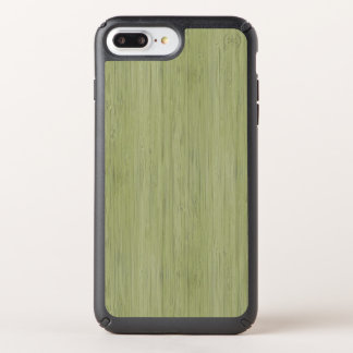 Moss Green Bamboo Wood Grain Look Speck iPhone Case