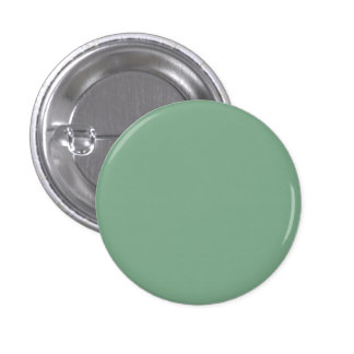 Moss Green in an English Country Garden 1 Inch Round Button
