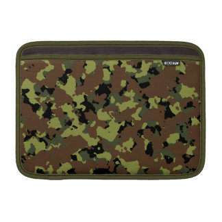 Moss Green Military Camo MacBook Air Sleeve