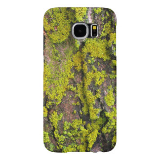 Moss Growing On A Tree Samsung Galaxy S6 Cases