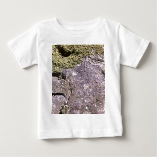 Moss growing on Australian granite in bush setting Baby T-Shirt