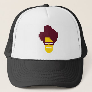 Moss Head Shot Trucker Hat