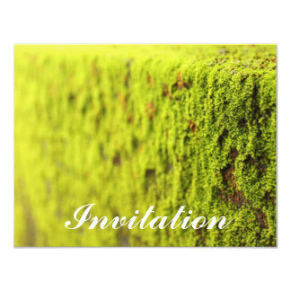 Moss 4.25x5.5 Paper Invitation Card