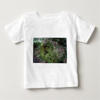 Moss on fallen redwood baby T-Shirt