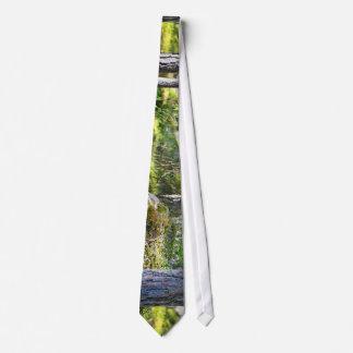 Moss On Rocks Tie