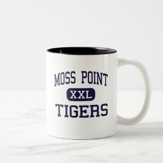 Moss Point - Tigers - High - Moss Point Two-Tone Coffee Mug