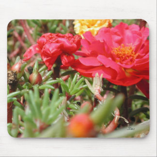 Moss Roses Mouse Pad