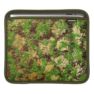 Moss Rust Aged Grunge Old Texture Sleeves For iPads