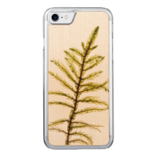 Moss sprout carved iPhone 8/7 case