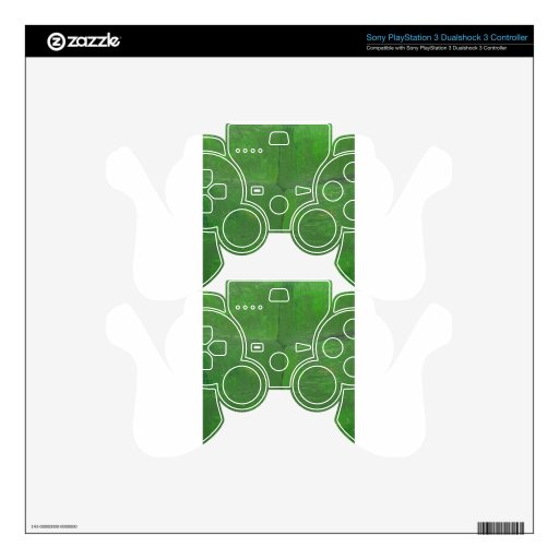 Moss Wall (botanical textured pattern ) PS3 Controller Skin