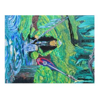 Moss (west coast shaman) postcard