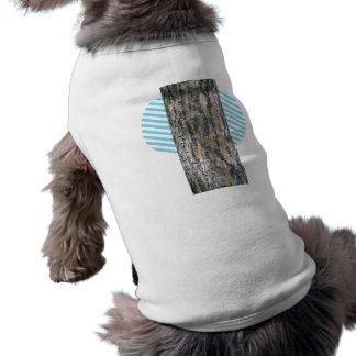 Moss Wood Texture Doggie Shirt