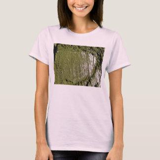 Moss Wood Texture T-Shirt