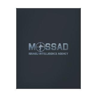 Mossad - agencia de inteligencia israelí - alcance lona estirada galerías