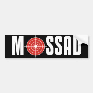 Mossad Etiqueta De Parachoque