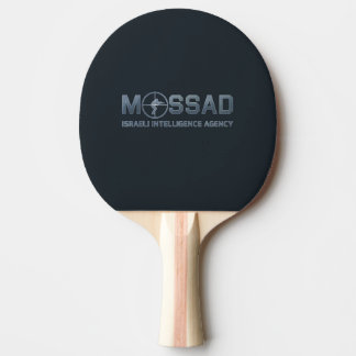 Mossad - Israeli Intelligence Agency - Scope Ping-Pong Paddle