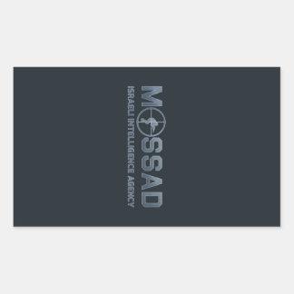 Mossad - Israeli Intelligence Agency - Scope Rectangular Sticker