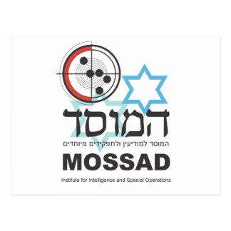 Mossad, la inteligencia israelí tarjetas postales