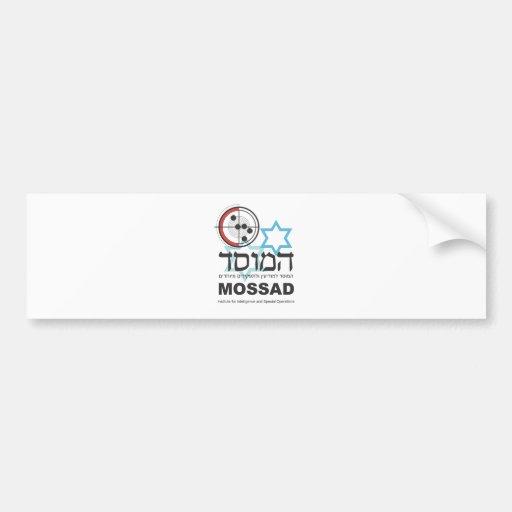 Mossad, the Israeli Intelligence Bumper Stickers