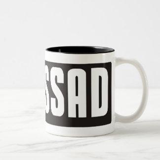 Mossad Two-Tone Coffee Mug