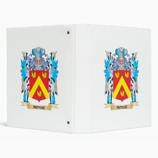Mosse Coat of Arms - Family Crest Binders