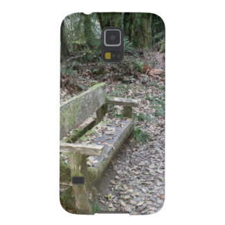 Mossy bench Moments in Time trail Olympic Nationa Galaxy S5 Cases
