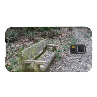 Mossy bench Moments in Time trail Olympic National Galaxy S5 Case