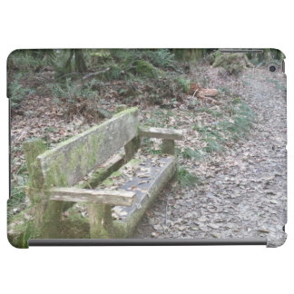 Mossy bench Moments in Time trail Olympic National iPad Air Case