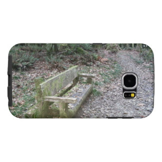 Mossy bench Moments in Time trail Olympic National Samsung Galaxy S6 Case