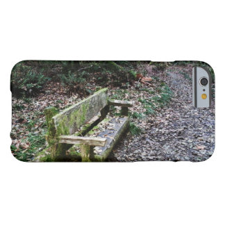Mossy Bench Nature Trail in Olympic National Park Barely There iPhone 6 Case